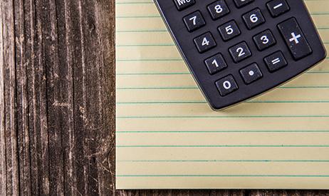 calculator money finances plan