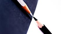 pencils contrast