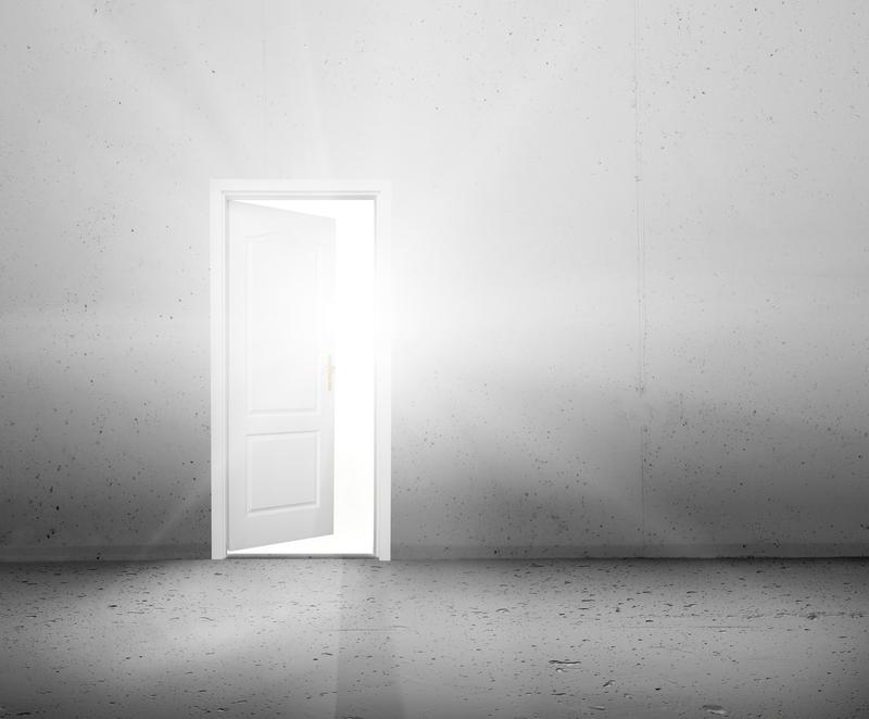 open door new light