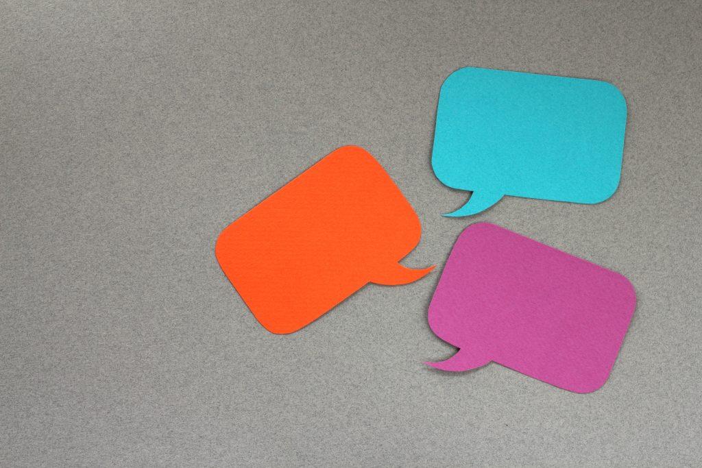 speak communication talk conversation