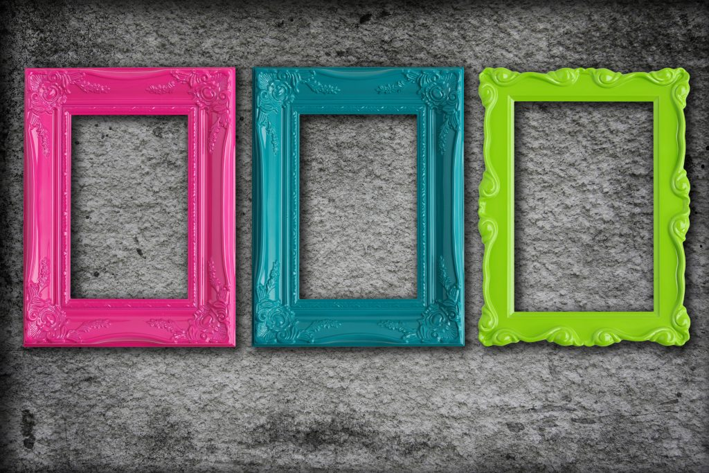 frames colour creative