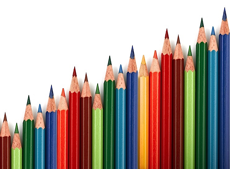 pencils colours