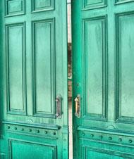 door exit