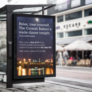 Absolute Design's work for The Cornish Bakery