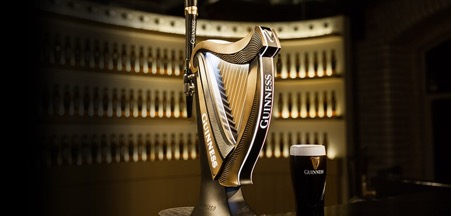 Guinness Harp Fount, designed to meet the needs of bar owners, consumers and the business.
