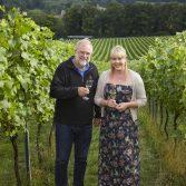 Nick Wenman and Lucy Letley, Albury Vineyard